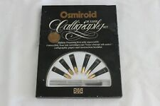 VINTAGE OSMIROID DELUXE CALLIGRAPHY SET / ENGLAND 22K GOLD PLATED NIBS