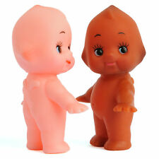A Lot Of 2 Cute Kewpie Doll Baby Vintage Cameo Figurine Rubber Ornament Toy Gift