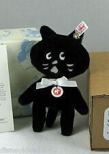 Steiff Bear NYA Black Cat Japan Exclusive Anime Black Translate Meow Nyah