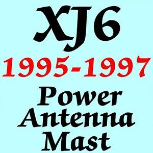 JAGUAR XJ6 POWER ANTENNA MAST 1995-1997 Brand New Stainless Steel + Instructions