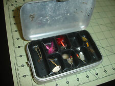 Mepps Aglia Flying Spinning Fish Fishing Lures LOT W/Box British French France