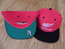 DETROIT RED WINGS VINTAGE SNAPBACK RETRO CAP HAT NEW!