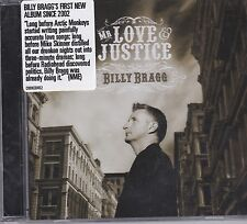 BILLY BRAGG - MR LOVE & JUSTICE on CD - NEW
