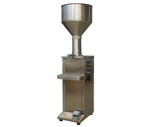 Vertical full Pneumatic liquid and  paste Filling Machine for butter,toothpaste