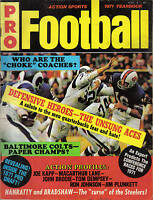 1971 Action Sports Pro Football Yearbook magazine, Mike Curtis, Baltimore Colts