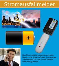 GSM Alarm Anruf SMS Stromausfall Melder MicroGuard-USB Interner Akku