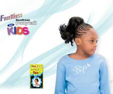 """Jackie 8"""" Freetress Dibujo Cuerda Cola de Caballo para Niños Abatible Fuera J"""
