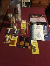Lot of Mixed Candle Making Supplies. Everything In The Picture!  Books. Molds.