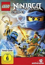 LEGO NINJAGO STAFFEL 6.1  DVD (Dan Hageman, Erik Wilstrup, Vincent Tong) NEU