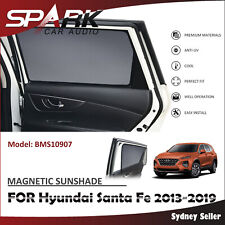 CT MAGNETIC CAR WINDOW SUN SHADE BLIND MESH REAR DOOR FOR HYUNDAI SANTA FE 2013+