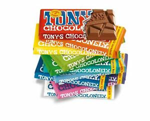 TONY'S CHOCOLONELY | FT Finest Luxury Chocolate 180g Bar, choose from 8 Flavours