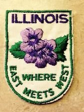 ILLINOIS PATCH WHERE THE EAST MEETS WEST