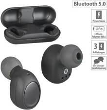 Auvisio IHS-760 True Wireless In-Ear-Headset Bluetooth Powerbank Kopfhörer Ohr
