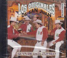 Los Originales de San Juan Se Va De Este Pueblo CD New Nuevo