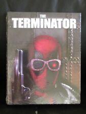 The Terminator Deadpool Photobomb Blu-Ray Slip Cover Walmart Exclusive New