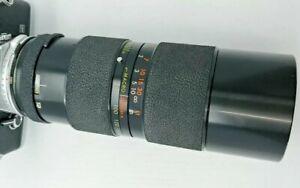 Tamron BBAR Multi C Macro 80-250mm 3.8-4.5 LENS w/ Adaptall for OLYMPUS OM
