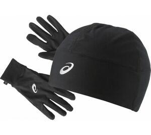 ASICS Performance Pack - Hat and Gloves Set Unisex Black Running Sport