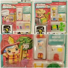 My Mini MixieQs with Mystery figure Lot of 3 new unopened baker firefighter farm