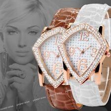 Damenuhr Leder Armbanduhr Damen Uhr Neu