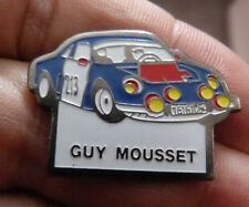 RARE PIN'S ALPINE RENAULT A 110 BERLINETTE GUY MOUSSET