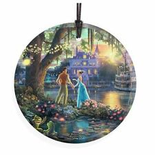 Disney Princess & the Frog by Thomas Kinkade StarFire Prints Hanging Glass Print