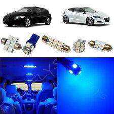 9x Blue LED lights interior package kit for 2011-2012 Honda CR-Z HZ1B