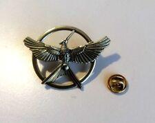 Hunger Games Bronze Gold Plated Katniss Mockingjay Pin Brooch Replica Prop