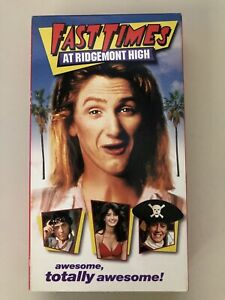 Fast Times at Ridgemont High VHS Cult Classic Movies High School