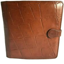 MULBERRY ORGANISER FOR PDA/PHONE/CARD/PEN/NOTEPAD HOLDER - BROWN CONGO LEATHER