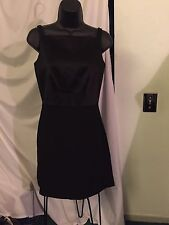 Gorgeous Georgiou Studio Lined Black Formal Evening Dress In Size 2