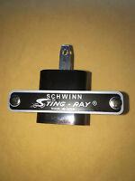 Schwinn Stingray Seat Tag Genuine Schwinn  badge metal Emblem USA Original