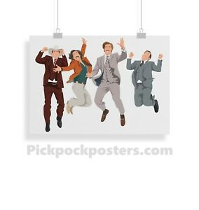 Anchorman, Ron Burgundy, Movie, poster, print, gifts, wall art, home decor