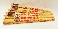 "6 Raw Emperador 7"" Pre Rolled Rolling Paper Cones With Tip Free Shipping"