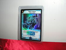 DUEL MASTERS DM-01 BASE SET AQUA SNIPER SUPER RARE BRAND NEW TRADING CARD