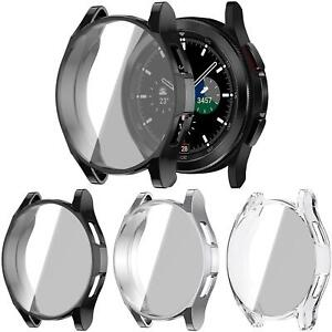 Full Cover Screen Protector Case For Samsung Galaxy Watch 4 40mm 44mm Band Strap