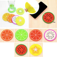 Silicone Coaster Heat Pad Thicken Cup Mat Fashion Cute Placemat Diameter 9 CM