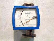 Krohne 1 150 Variable Area Flow Meter H250