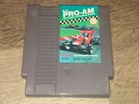 R.C. Pro-Am Nintendo Nes Cleaned & Tested Authentic