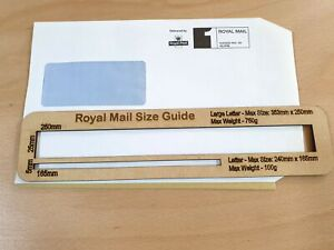 Royal Mail PPI Letter Large Size Guide Post Office Postal Price Postage Template