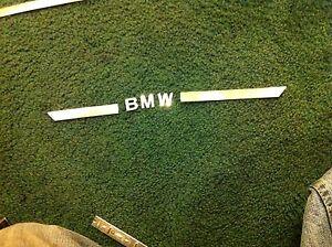BMW E39 540i 525i 530i 528i 530d 523i 535i 540 door entrance sill letter REAR RH