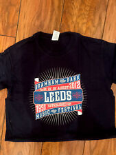 More details for leeds festival t shirt - genuine 2012 merch , brand new size m free p&p
