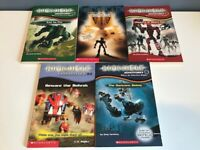 Lego Bionicle Book Lot of 5 Chronicles Adventures Mask of Light ~ LIKE NEW