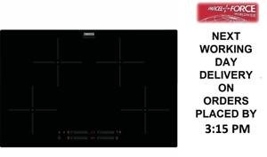 Zanussi ZITN844K 78cm Black Induction Hob + 1 Year Warranty (Tatty Box)