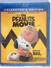 The Peanuts Movie (Blu-ray/DVD, 2016, 2-Disc Set, ) (NEW)