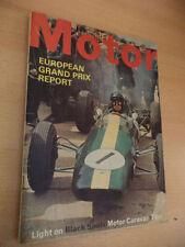 July Motor Cars, 1960s Transportation Magazines