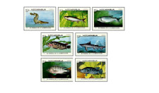 NIC8706 Fishes 7 stamps