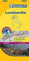 Lombardia - Michelin Local Map 353 (Michelin Local Maps), Michelin, Used; Very G