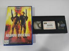 SOLDATO UNIVERSALE VAN DAMME DOLPH LUNDGREN ROLAND EMMERICH - VHS TAPE SPAGNOLO