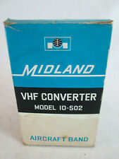 Vintage 1970's Midland model 10-502 VHF Converter Aircraft Band Japan