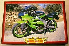 KAWASAKI NINJA ZX-6R MODERN  CLASSIC MOTORCYCLE BIKE 2000'S PICTURE PRINT 2000